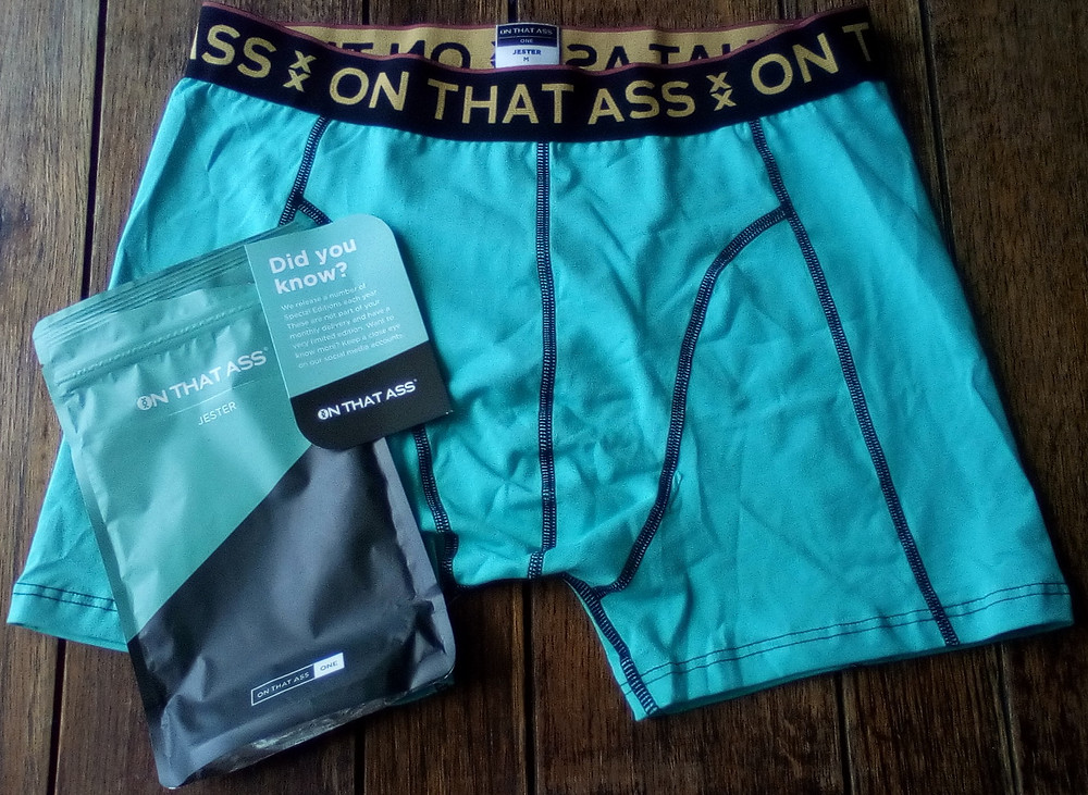 Freebies in the UK including boxer shorts from On That Ass