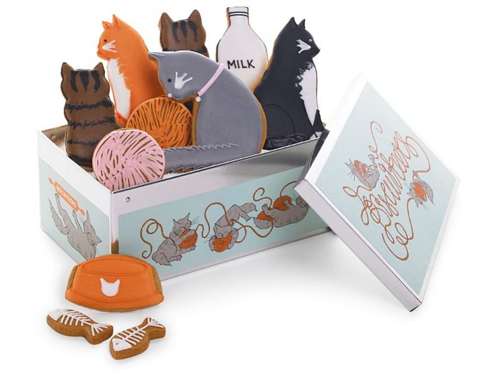Cool for cats tin from Biscuiteers