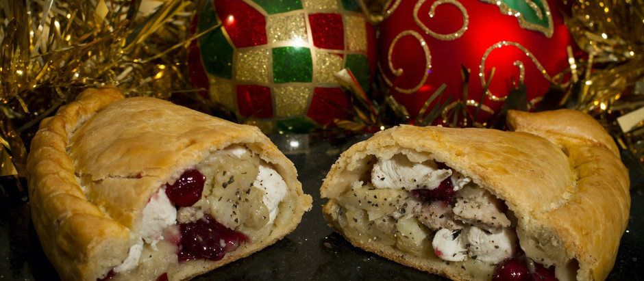 Win a Christmas Freezer Filler containing 32 Cornish pasties