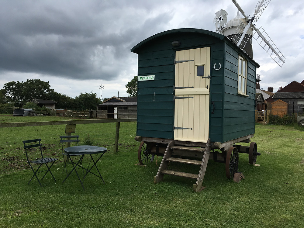 Bircham Windmill Shepherd's Hut, Norfolk