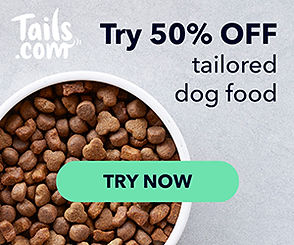 tails.com 50% off tailored dog food