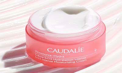 Free Caudalie hydrating gel sample