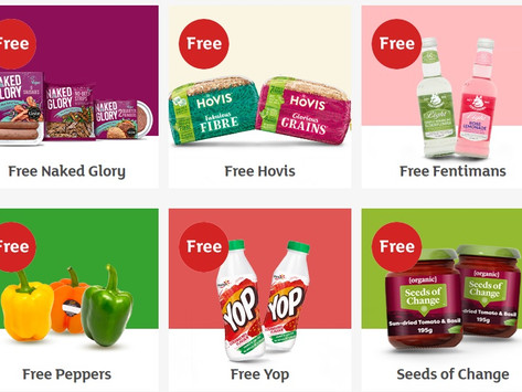 Sainsburys, freebies for online customers