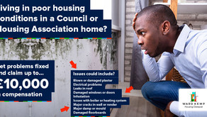 Are you a council or housing association tenant living in poor conditions?