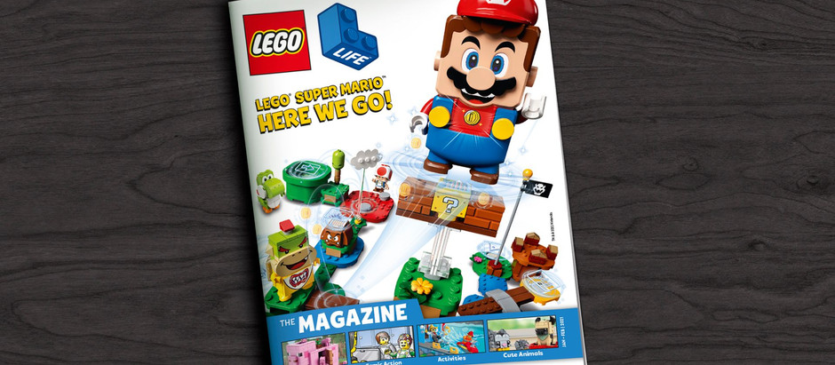 Free Lego magazine subscription for children