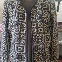 Grey and Cream Jacket