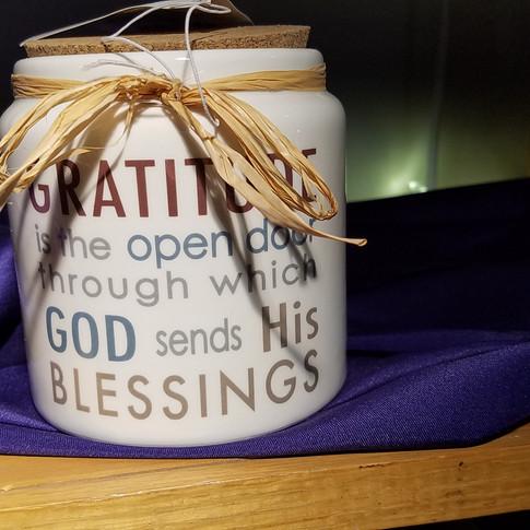 Gods Blessings Savings Jar