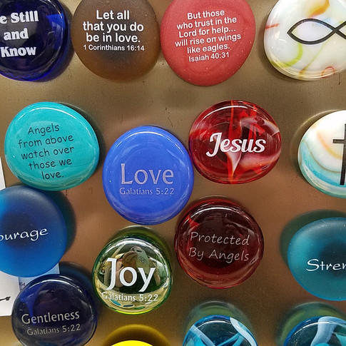 Scripture and Gifts of the Spirit Magnets