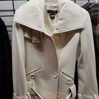 Winter White Wool Jacket