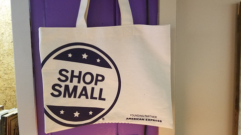Shop Small Tote Bag