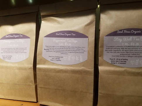 Healing Herbal Organic Teas