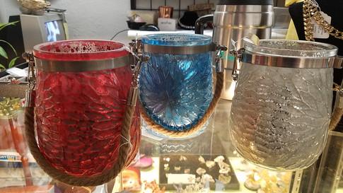 Rope Handle Candle Jar Holders