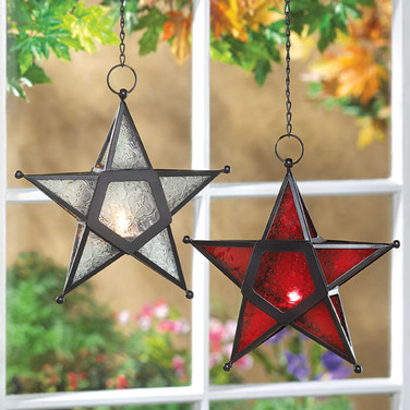 Star Design Candle Holder