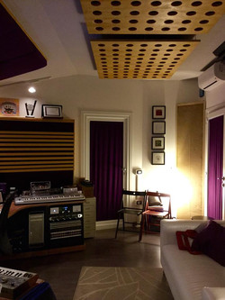 Al Fondino Studio - Control Room