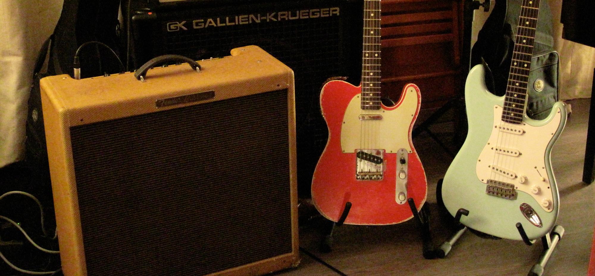 Fender Bassman, Tele, Strato