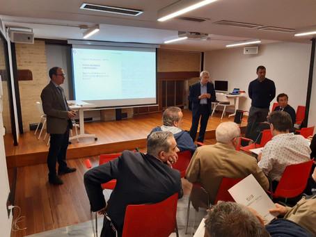 Sesión de formación con el Dr. Luis Seijo