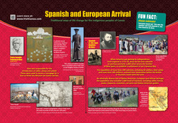 Spanish and European influence.