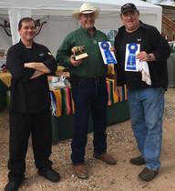 Chef Mitch Thomas, Greg Hansen, and Jim