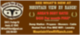 Mt View RV Ranch Banner Ad What's new.jp