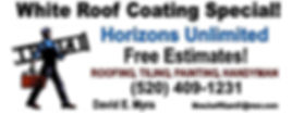 Horizons Unlimited ad banner web white r