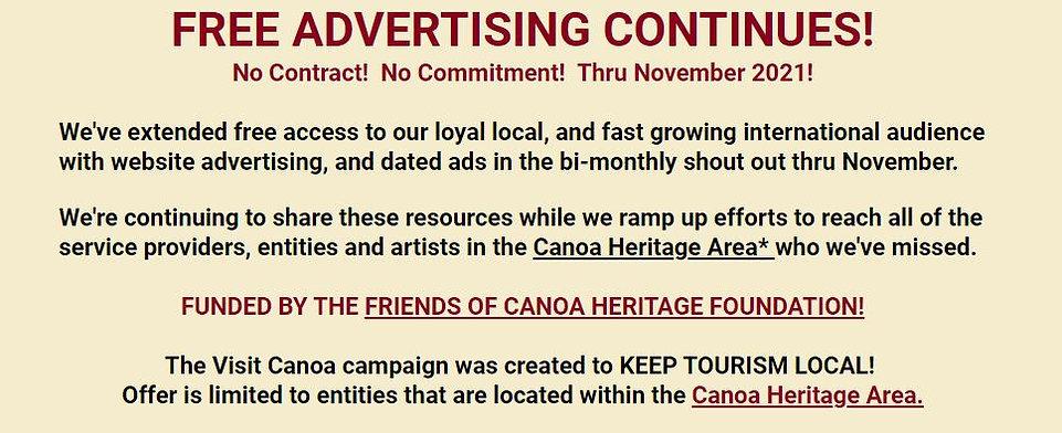 Free ads continue 9 21.JPG