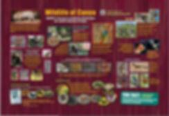 Animals, riparian, birds, bugs and butterflies of Canoa.