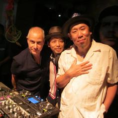With Dr.Ihara & Yossy of Club Ska