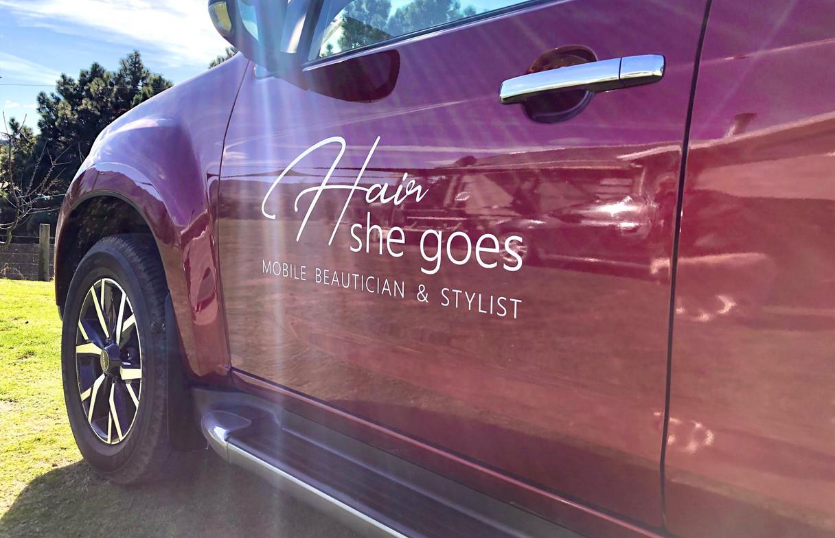 Vehicle Signage & Logo Design