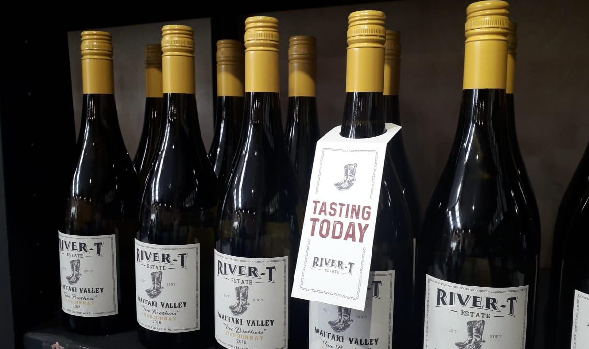 Wine Bottle Neck Hangers