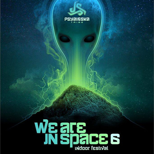 We are in space