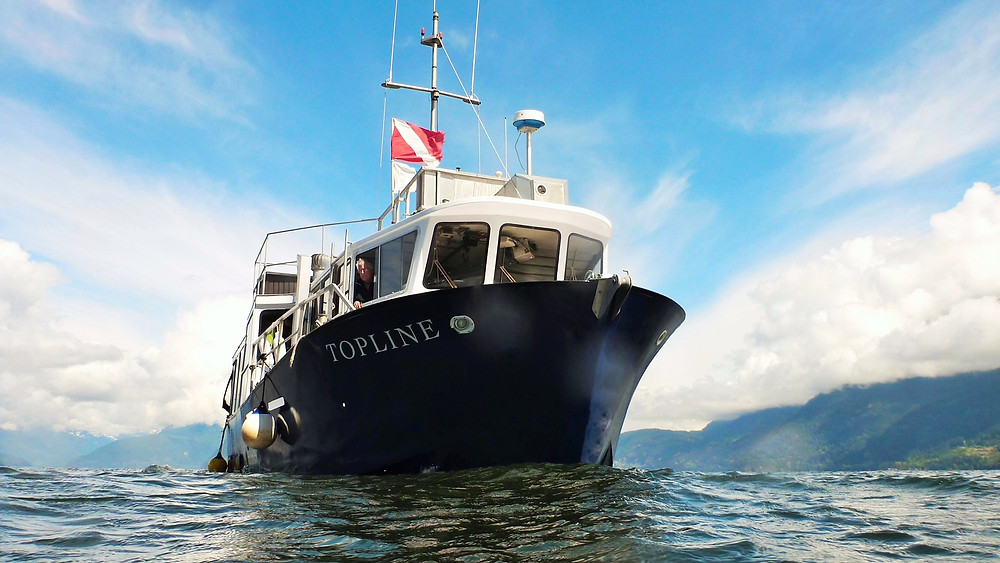 Sea Dragon Charters customized dive boat vancouver