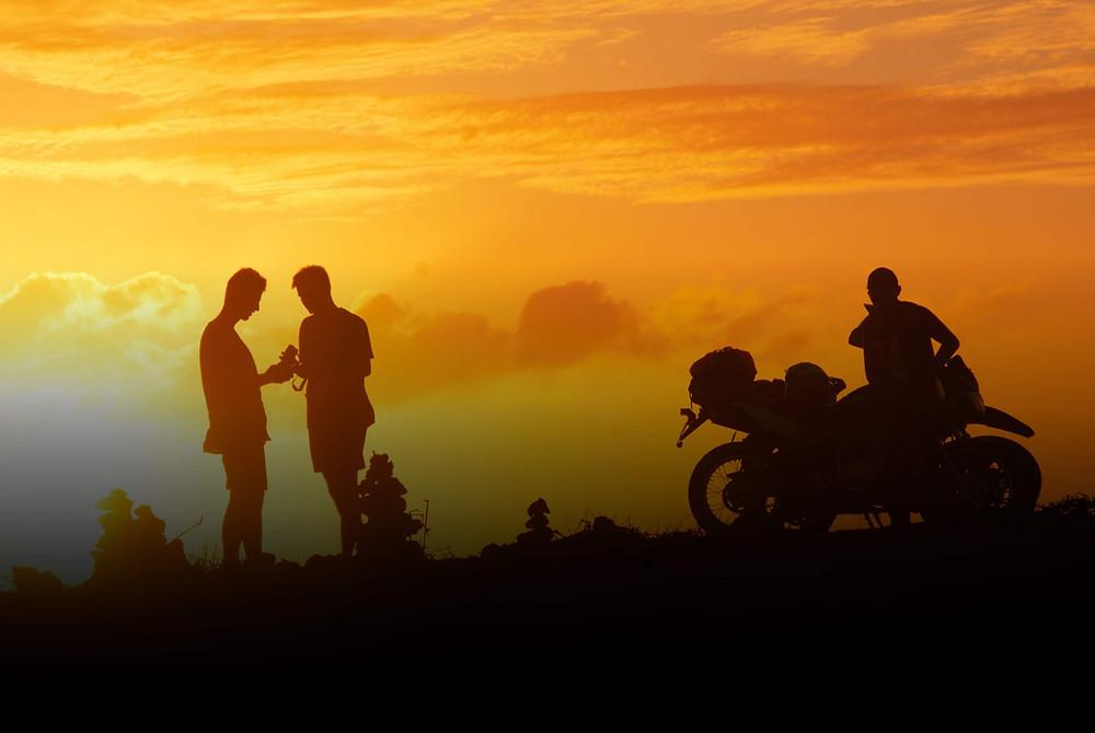 Motorcycle tour Punta Gallinas