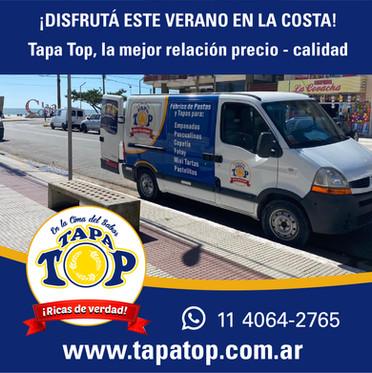 tapatop en la costa - camioneta_Mesa de