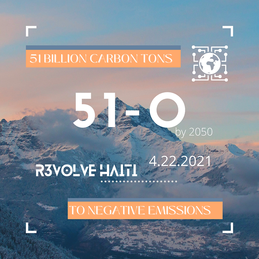 51-0 : 51 billion carbon emissions to 0 by 2050