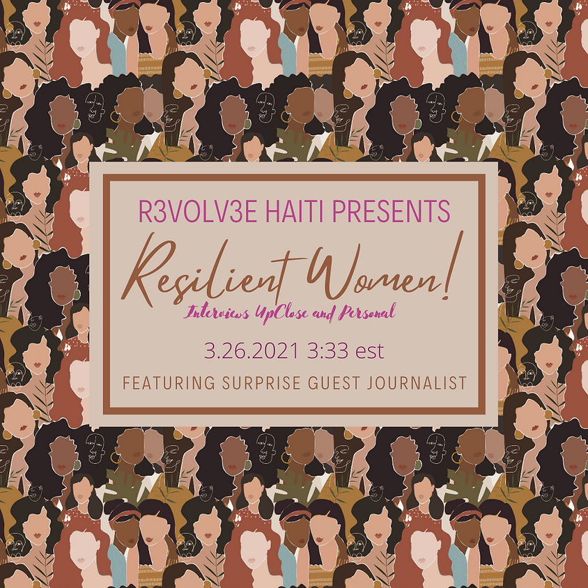 Resilient Women One on One Interviews