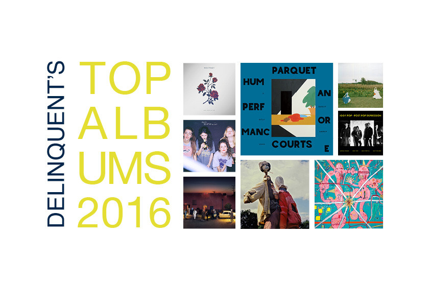 ALBUMS OF THE YEAR '16