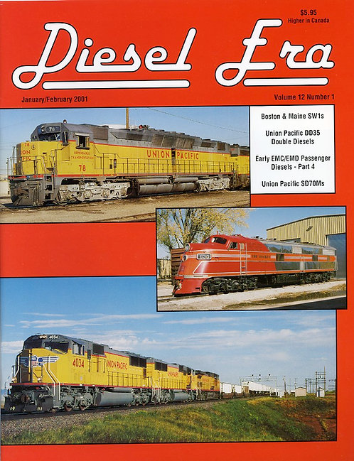 Diesel Era: Volume 12 Number 1