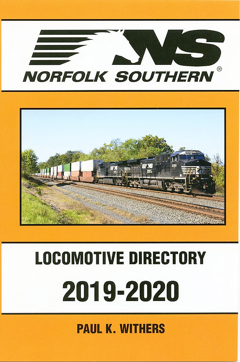 Norfolk Southern 2019-2020 Locomotive Directory