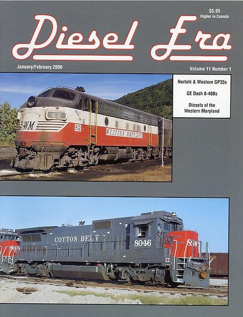 Diesel Era: Volume 11 Number 1