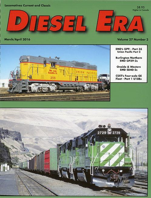 Diesel Era: Volume 27 Number 2