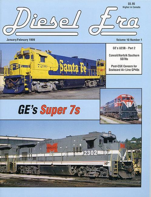 Diesel Era: Volume 10 Number 1