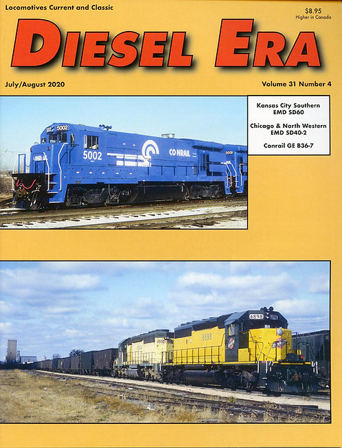 Diesel Era: Volume 31 Number 4