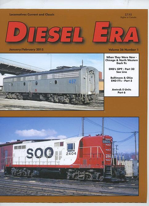 Diesel Era: Volume 26 Number 1