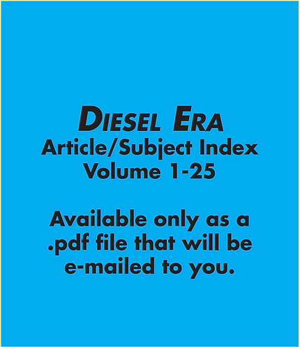 Diesel Era Index (Digital)