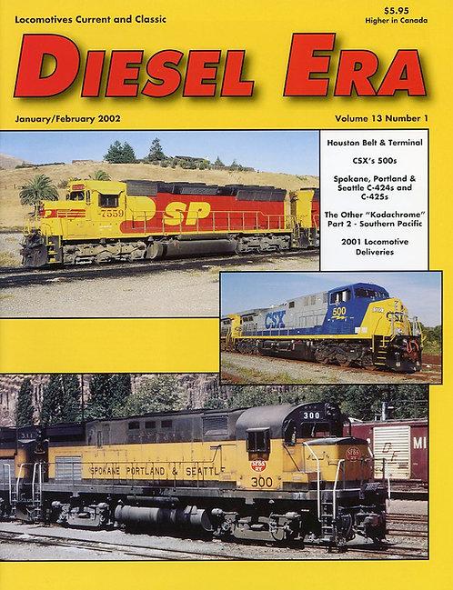Diesel Era: Volume 13 Number 1