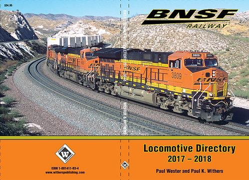 BNSF 2017-2018 Locomotive Directory