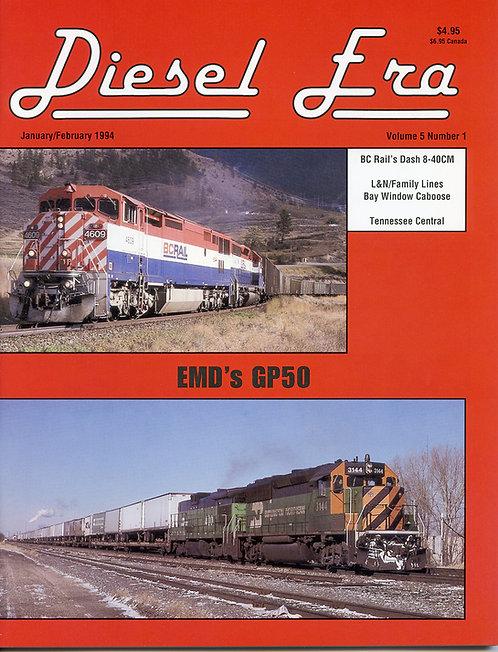 Diesel Era: Volume 5 Number 1