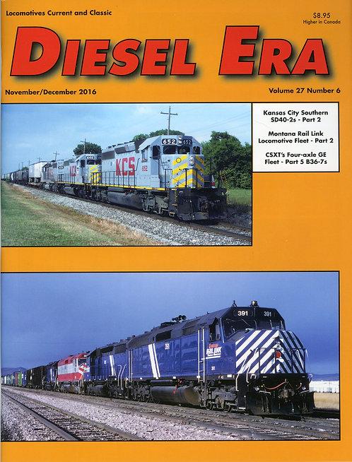 Diesel Era: Volume 27 Number 6