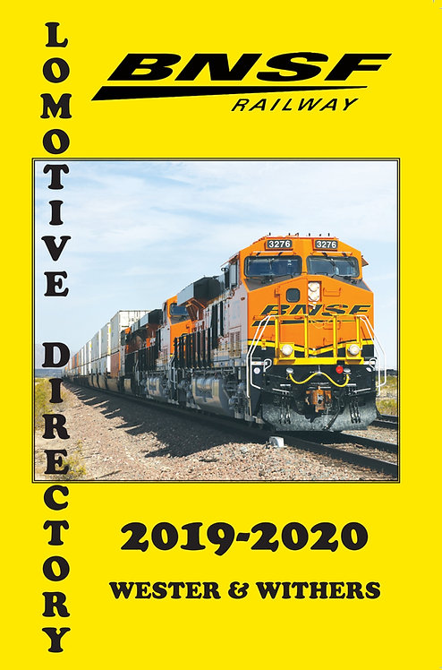 BNSF Locomotive Directory 2019-2020