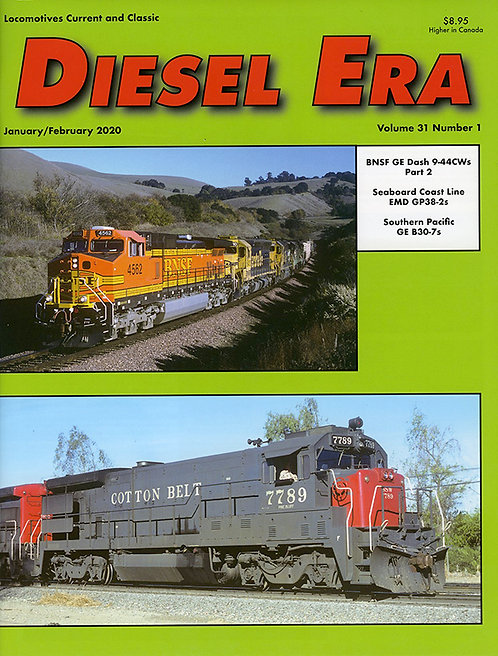 Diesel Era: Volume 31 Number 1